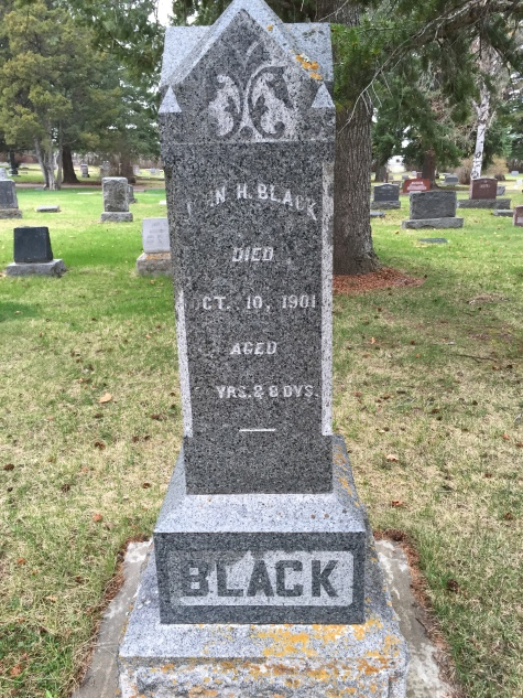 John Black headstone